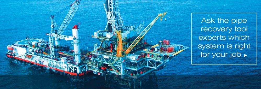 A picture of an Offshore Oil Rig where MCR Oil Tools Licensees Perform Radial Cutting Torch Tool Runs