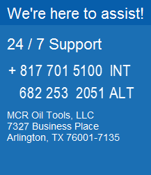 mcr oil tools contact phone numbers for the radial cutting torch rct pipe recovery